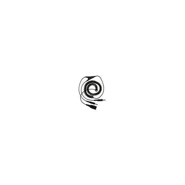 GN PC JACK 2 M. SPIRAL / QD STIK