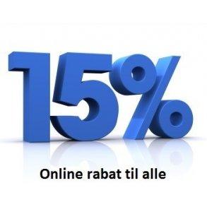 Onlinerabat til alle